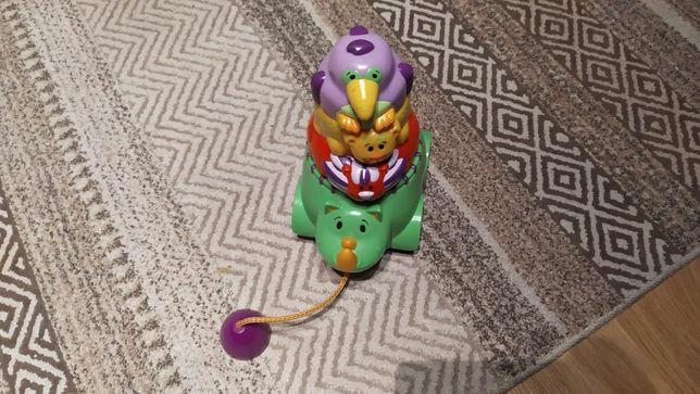 Zabawka Nosorożec na sznurku
