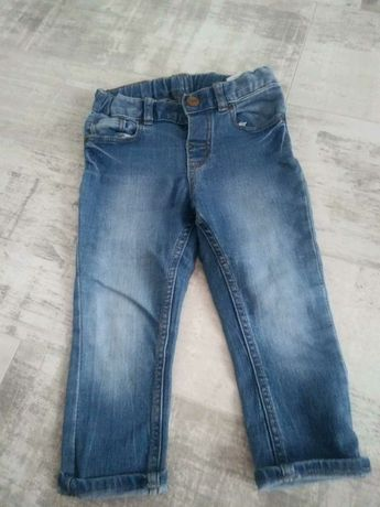 Jeansy h&m roz.86