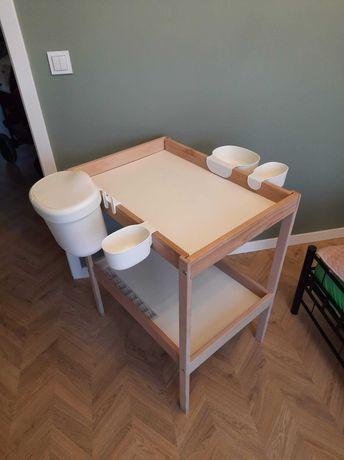 Przewijak Ikea z akcesoriami