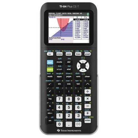 CALCULADORA Texas Instruments TI-84 Plus CE-T