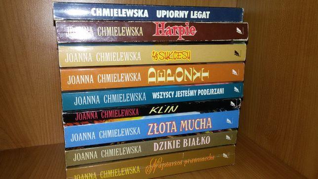 Joanna Chmielewska Depozyt Klin Złota Mucha Harpie 2/3 sukcesu ZESTAW