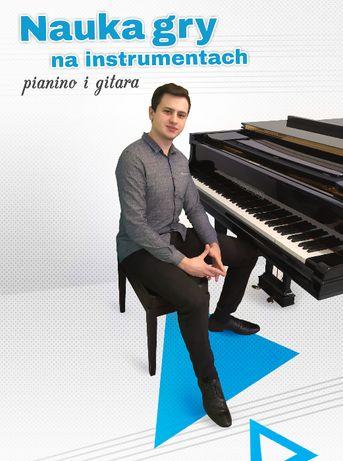 Nauka gry - Fortepian / Pianino / Gitara