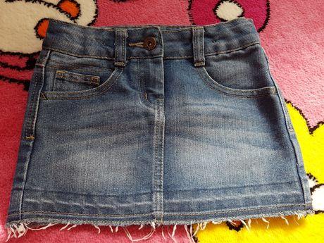 Klasyczna jeansowa spódniczka MINI spódnica jeans George rozmiar  104