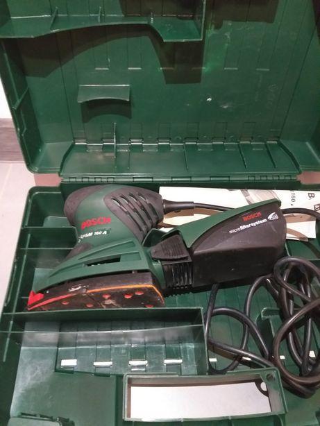 Szlifierka uniwersalna Bosch PSM 160 A WALIZKA