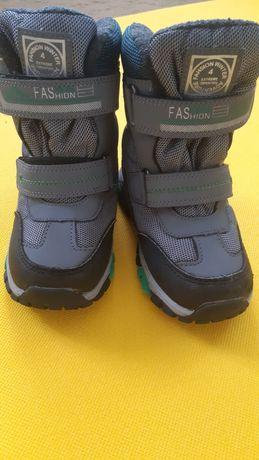 Термо ботинки для мальчика ТОМ.М на овчине