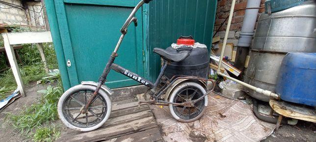 Велосипед Зайка