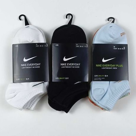Короткие носки Nike Шкарпетки найк reebok puma adidas следы