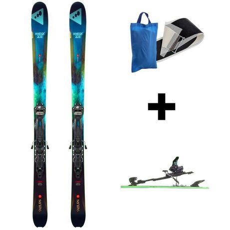 Narty 177cm Freeride skiturowe Decathlon tyrolia adrenalin foki