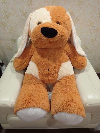 Большая мягкая игрушка собака 110см