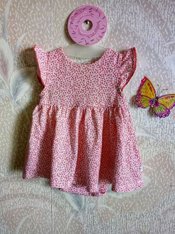 Платье-бодик 2в1 Mothercare