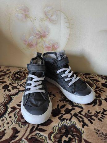 Кеды детские обувь на девочку 28 размер