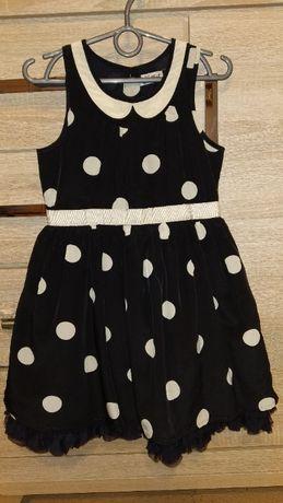 Sukienka z tiulem 110 w groszki NEXT