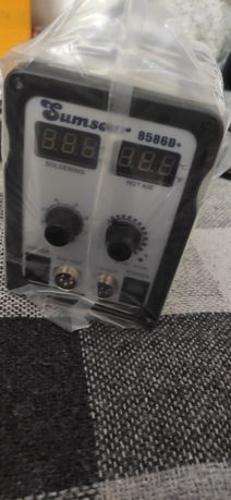 Продам паяльную станцию Sumsuour 8586D+ (фен+паяльник) новая