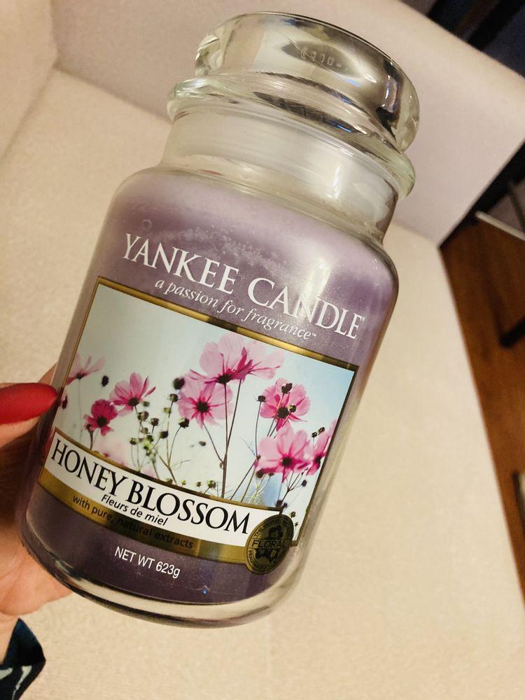 Yankee Candle Honey Blossom unikat duza świeca zapachowa nowa