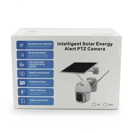 Уличная аккумуляторная поворотная ip камера UKC Q5 с солнечной панелью