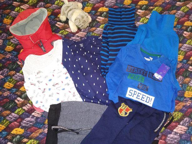 10 за 500грн.Новое и б/у86 - 92 р. Lupilu Carter's штаны, боди, гольф.