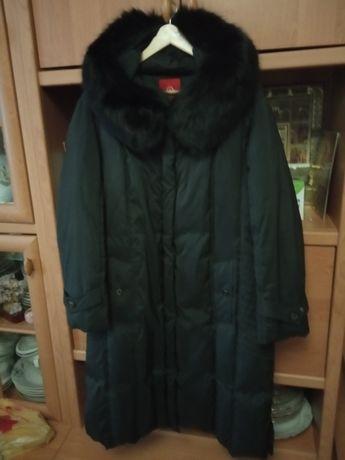 Пальто пуховик женский,шуба меховая нутрия.