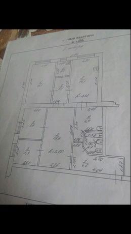 Квартира 4х комнатная