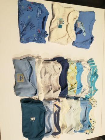 Ubranka dla chlopca rozmiar 56-62