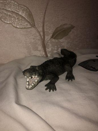Schleich, фигурка крокодил.