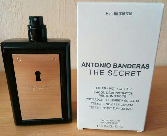 Antonio Banderas The Secret edt 100 мл Тестер Оригинал