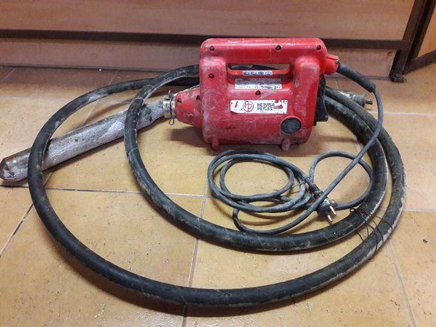 wibrator, zagęszczacz do betonu Hervisa Perles