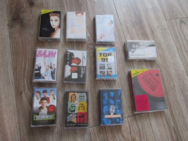 kasety magnetofonowe zestaw 11szt  celine dion budka suflera bajm