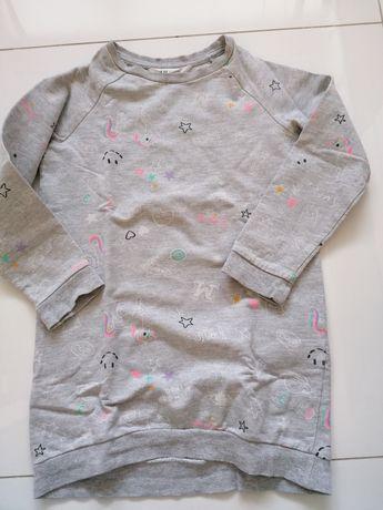 Piękna bluza marki H&M dla dziewczynki! 122 cm