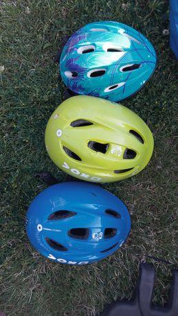 Kaski rowerowe 3 szt cena za wszystkie