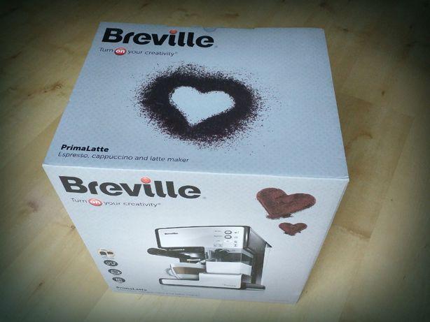 NOWY Ekspres kolbowy Breville Prima Latte VCF045X GWARANCJA