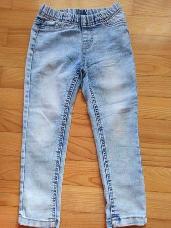 Spodnie - jeansowe leginsy