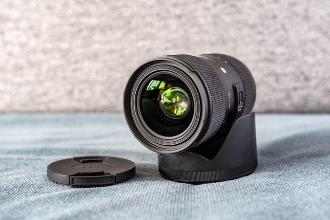 Sigma art 18-35/1.8 DC bagnet Nikon F