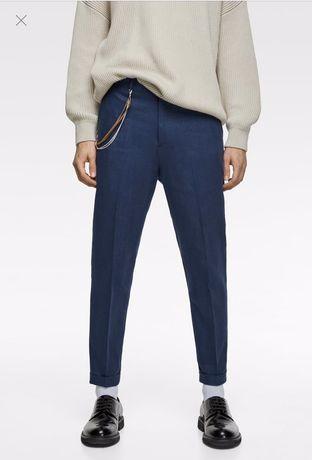 Крутые мужские брюки Zara 42 р