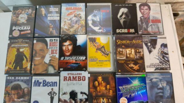 200 dvds.