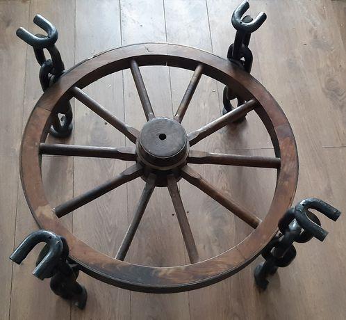 Stół, stolik kawowy, koło, łańcuchy, wytrzymały