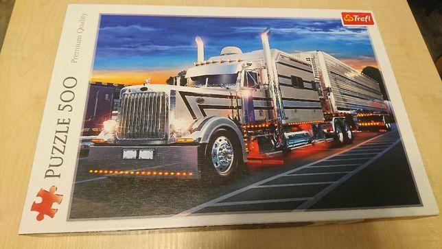 Puzzle 500 elementów - ciężarówka