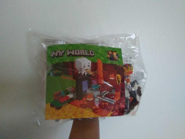 Nowe Klocki Minecraft 477 sztuk