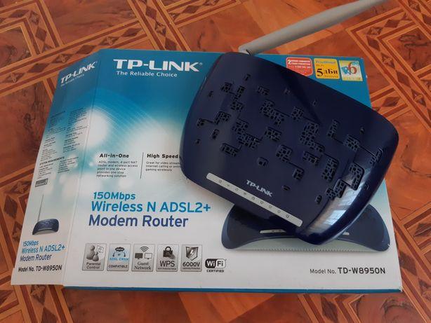 ADSL модем + роутер TP-LINK TD-W895on