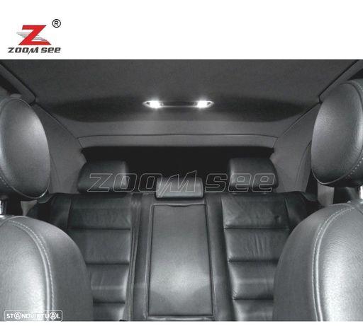 KIT COMPLETO DE 23 LÂMPADAS LED INTERIOR PARA AUDI A4 S4 RS4 B6 B7 QUATTRO AVANT (2002-2008)