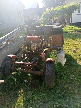 Самодельний мини трактор