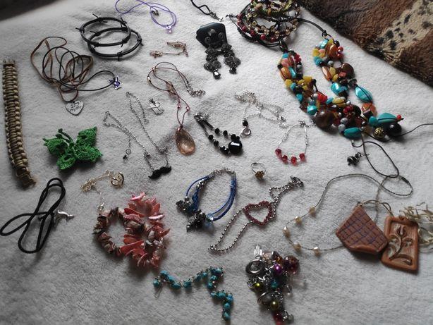 Pakiet biżuterii zestaw paka