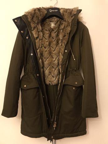 Zara bardzo ciepla kurtka