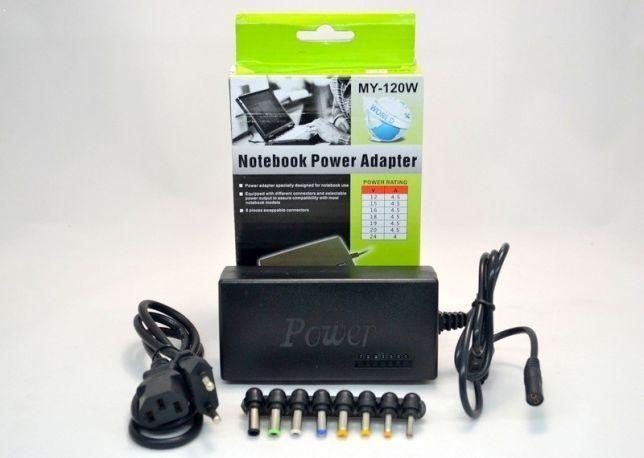 Зарядное устройство для ноутбука 8 насадок разных размеров
