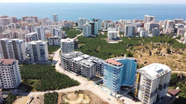 Двухкомнатная квартира в Аланье, Турция.