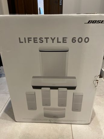 Okazja Bose lifestyle 600 nowe białe kino domowe