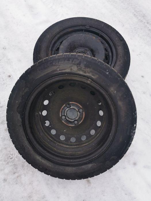 2 Felgi + 2 opony zimowe Michelin Alpin 175/65 r15 Fiat Grande Punto Chudów - image 1