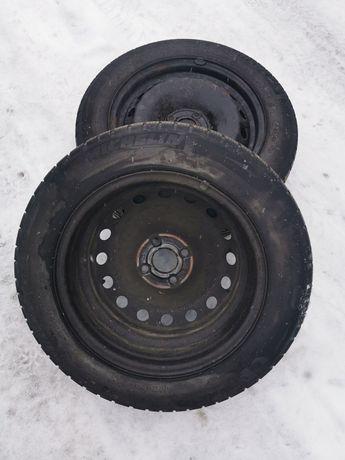 2 Felgi + 2 opony zimowe Michelin Alpin 175/65 r15 Fiat Grande Punto