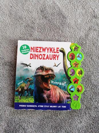 Książeczka z dźwiękiem dinozaury