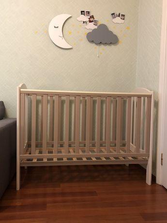 Детская кроватка Верес (Veres) Соня ЛД10 + Матрас + Наматрасник