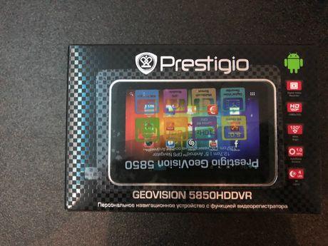Регистратор - Навигатор - Планшет Prestigio Geovision 5850HDDVR
